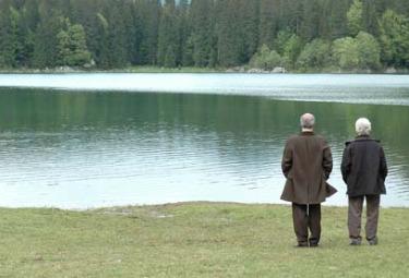 Una scena di La ragazza de lago