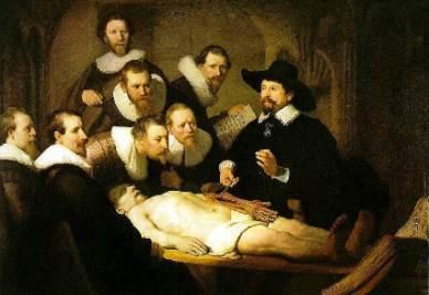 Rembrandt, Lezione di anatomia del dottor Tulp