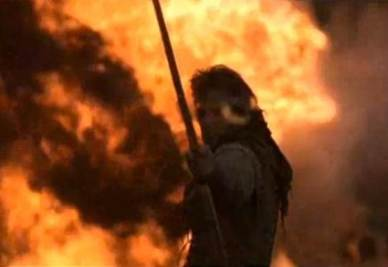 Kevin Kostner nel film Robin Hood