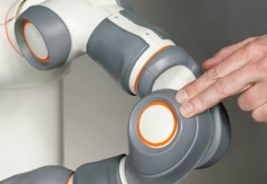 Una particolare del robot Frida (Foto Abb)