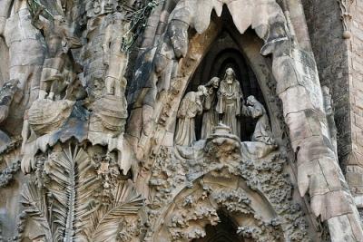 Sagrada Família - Particolare, la Natività