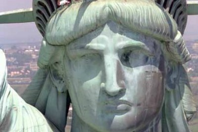 Head of the Statue of Liberty