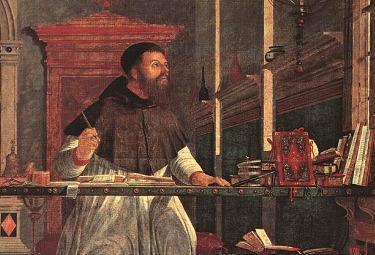 Vittore Carpaccio (1450-1526), Visione di S. Agostino