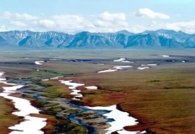 In Alaska i seeps sono apparsi in superficie a seguito dello scioglimento dei ghiacciai