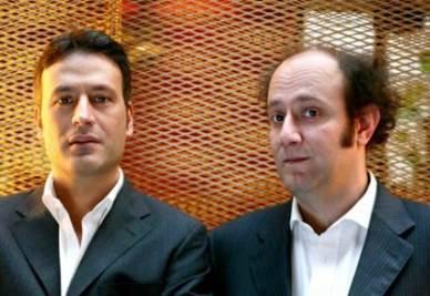 Ale (sulla destra) e Franz