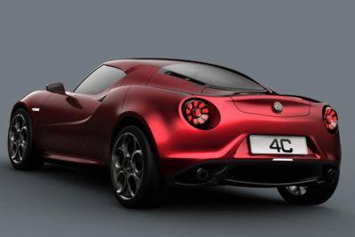 La Alfa Romeo 4C