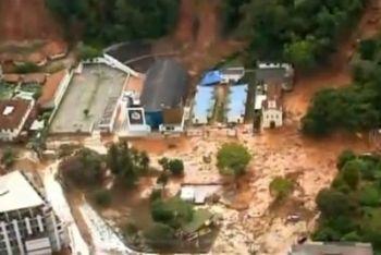 Alluvioni a Rio de Janeiro
