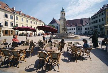 La città di Bratislava