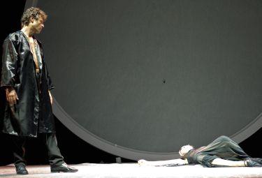 Stefano Pesce in Caligola e la luna