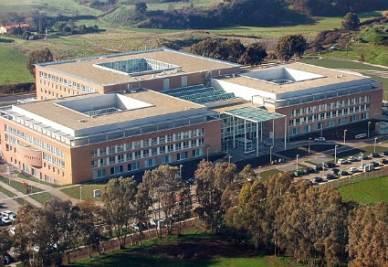 Vista aerea del Campus Bio-Medico