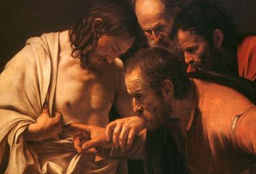 Caravaggio, L'incredulità di San Tommaso (1600-1601)