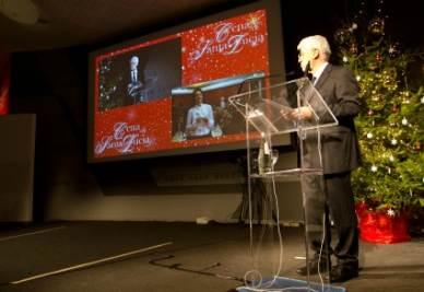 Graziano Debellini introduce la Cena di Santa Lucia