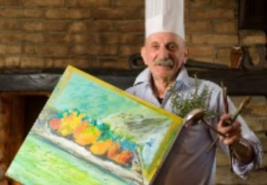 Il cuoco Cesare Giaccone