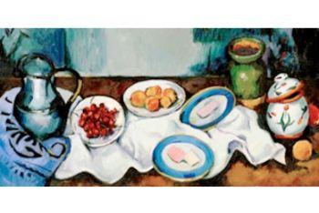 Il logo di Google dedicato a Paul Cézanne