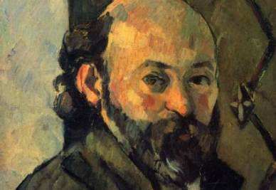 Paul Cézanne, Autoritratto