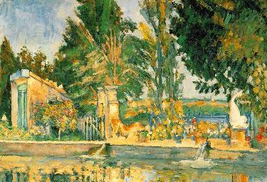 Paul Cézanne, Jas de Bouffan (1876), particolare