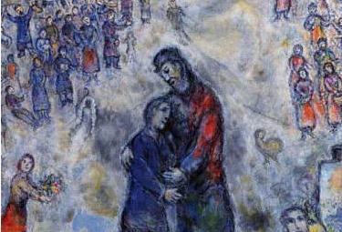 M. Chagall, Il figliol prodigo (1975-76)