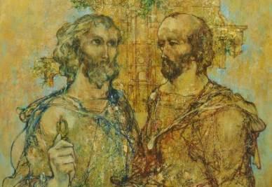 Valerij Charitonov, Pietro e Paolo (Immagine d'archivio)