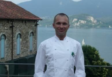 Roberto Barboni, chef del ristorante Convivium