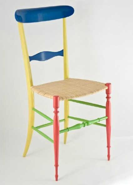 Chiavarina supercolor la sedia di chiavari restyling by - Sedia di chiavari ...