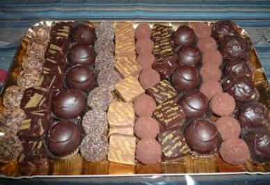 I cioccolatini della pasticceria Merlo