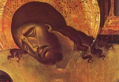 Cimabue, Crocifisso (1268-71). Chiesa di S. Domenico, Arezzo