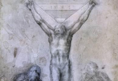 Cristo Crocifisso con la Madonna e San Giovanni, Londra, British Museum, inv. 1895-915-509 C 417.
