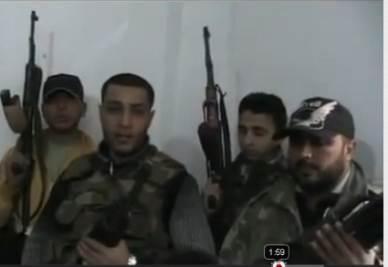 Disertori dell'Esercito siriano