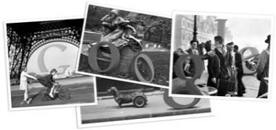 Il logo di Google dedicato a Robert Doisneau