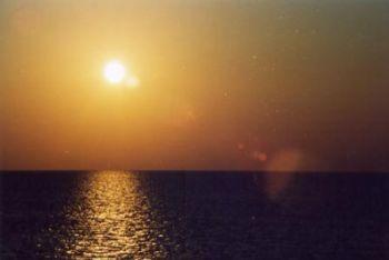 Un suggestivo tramonto