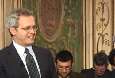 Enrico Mentana, direttore del Tg La 7