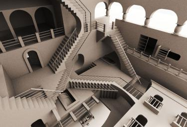 Opera di M. C. Escher (1898-1972)