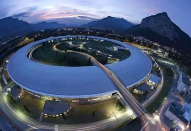 L'ESRF a Grenoble (immagine d'archivio)