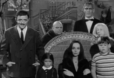 La Famiglia Addams, concepita da Charles Addams