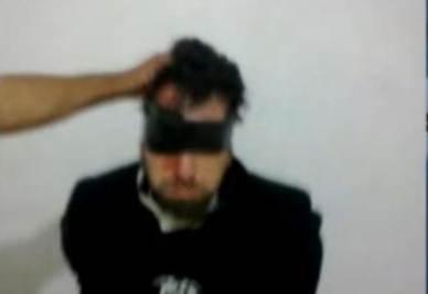 Le ultime immagini di Arrigoni prima di essere ucciso