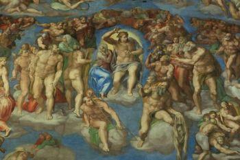 """Anche il Giudizio Universale di Michelangelo è stato oggetto delle """"cure"""" di Itr"""