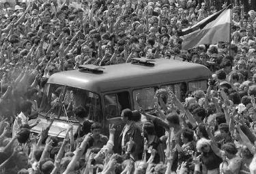 I funerali di Grzegorz Przemyk, 1983