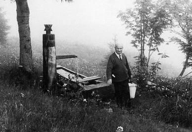 Martin Heidegger (immagine d'archivio)