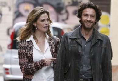 Vanessa Incontrada e Alessio Boni