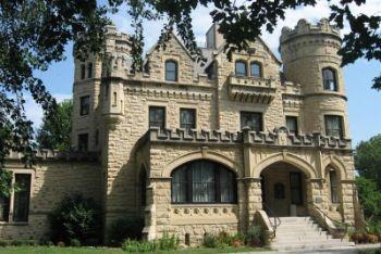 Il Joslyn Castle dove erano previste le nozze