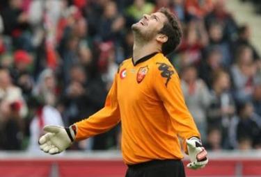 Julio Sergio: portiere titolare giallorosso