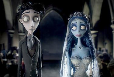 Una scena del film La sposa cadavere