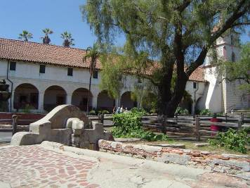 Santa Barbara Mission, CA