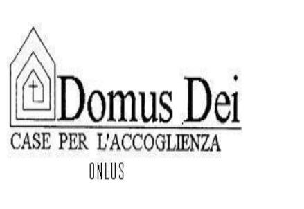 """L'Associazione Case per l'Accoglienza """"Domus Dei"""""""