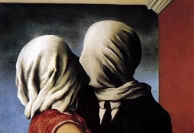 René Magritte, Gli amanti (1928)