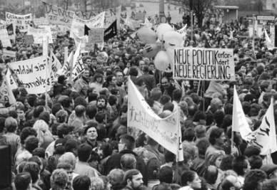 Proteste contro la Repubblica Democratica Tedesca