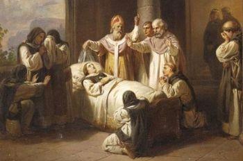 La morte di Santa Margherita di Molnár József's
