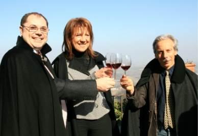 Paolo Massobrio, Tina Corona e Giovanni Storti
