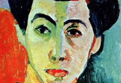 Henri Matisse, Madame Matisse à la raie verte, 1905 (immagine d'archivio)