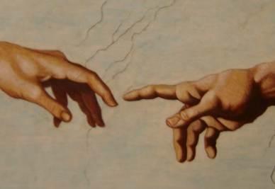Michelangelo, Il Giudizio universale (1536-1541, particolare; immagine d'archivio)